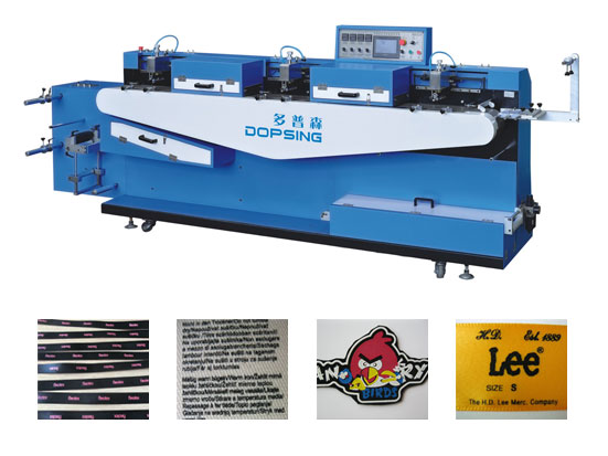 clothing labels screen printing machine with CE Certificate