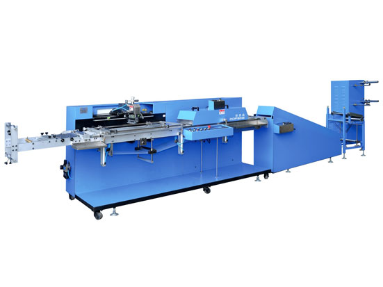 single kleur soarch Labels skerm printing machine