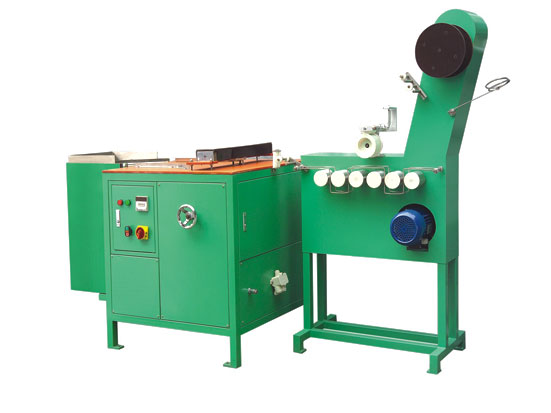 KW-600 elastic tapes festooning machine