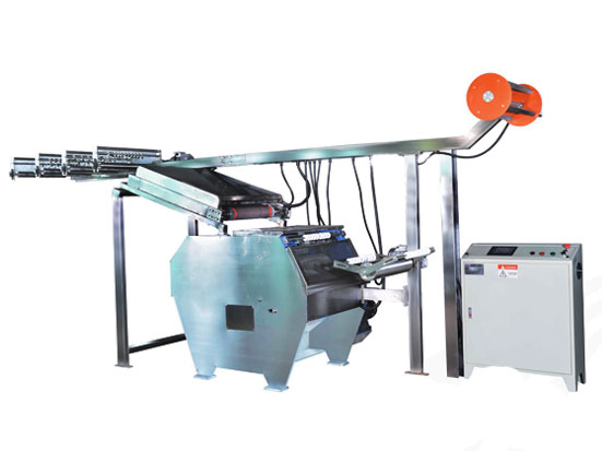 KW-210 elastic tapes pre-shrinking machine Featured Image
