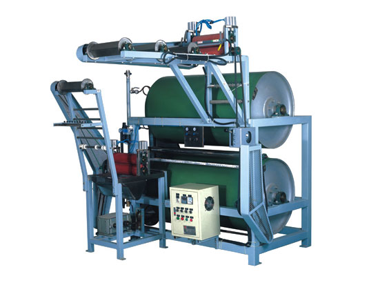 KW-705A Elastic tapes starching and finishing machine