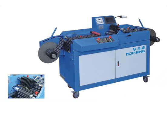 High efficient ultrasonic labels slitting machine with CE Certification