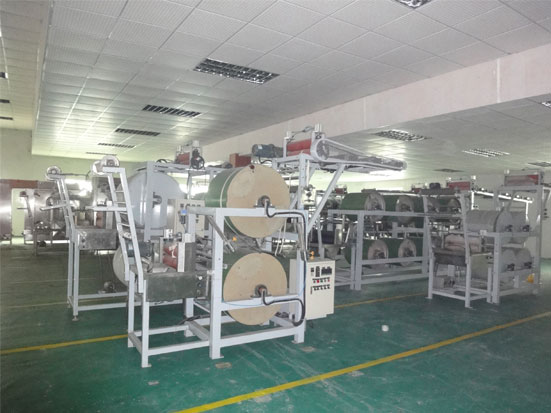 KW-710A 2cylinders starching and finishing machine
