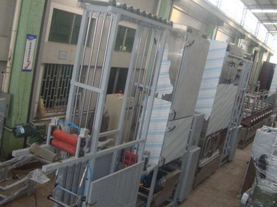 KW-800-H automobile seatbelt webbings continuous dyeing machine