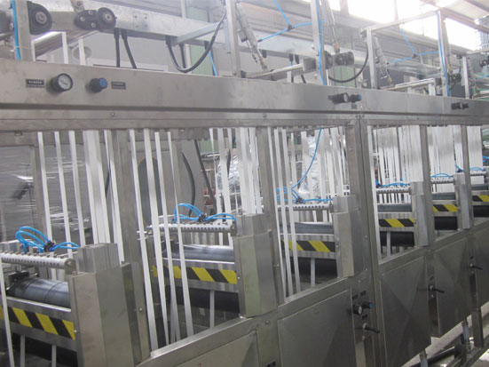 KW-800-XB400 automobile seatbelt webbings continuous dyeing machine