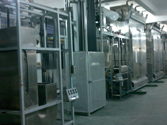 KW-800-S Single end Automobile seatbelt webbings continuous dyeing machines
