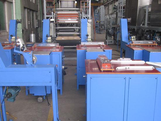 KW-600 elastic tapes festooning machine