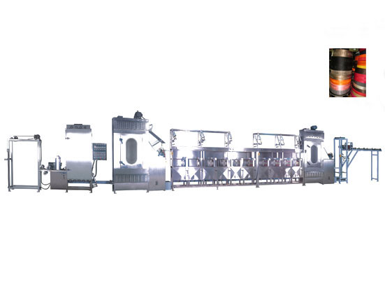 Special Design for Nylon Bag Belts Starching And Finishing Machine -