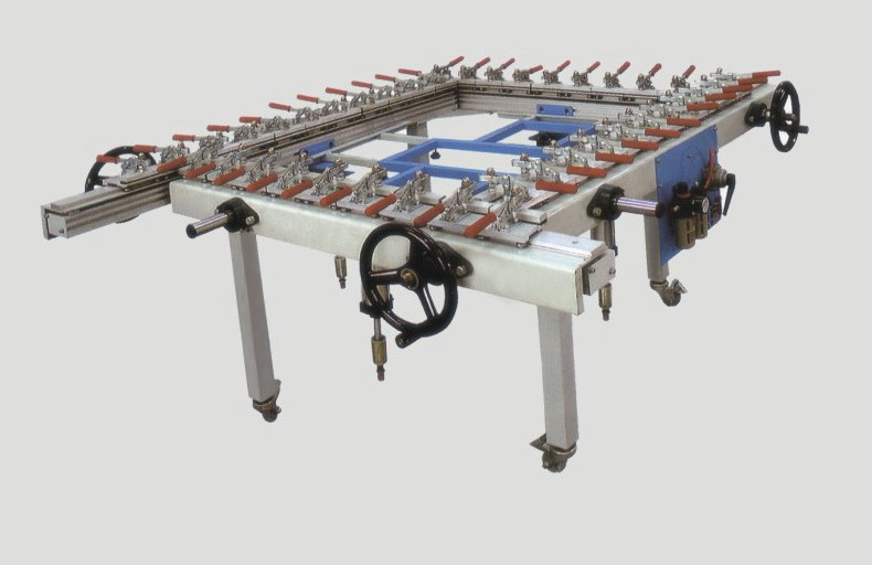 Mesh Stretch machine screen expose machine