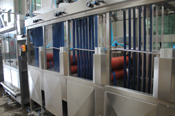 KW-800-XB400-L Luggage&Suitcase belts continuous dyeing and finishing machine