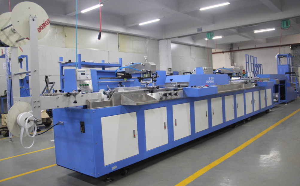 SPE-3000S-2C 2 colors cotton tapes screen printing machine