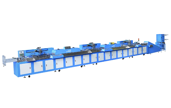 SPE-3000S-3C Automatic gift ribbons/satin ribbons screen printing machine