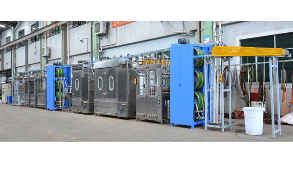 satin ribbons /label ribbons continuous dyeing finishing machine KW-812-S/D400 Featured Image
