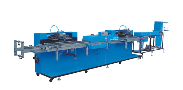 WET-4000S-02 2Colors Automatic screen printing machine for Roll to Roll Labels