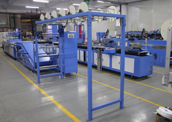 600mm Label ribbons automatic screen printing machine DS-600