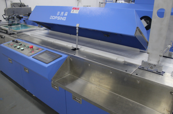 New type 2 colors Label ribbons screen printing machine