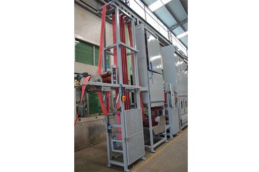 KW-820-DZ600 lash straps/Ratchet straps continuous dyeing machines