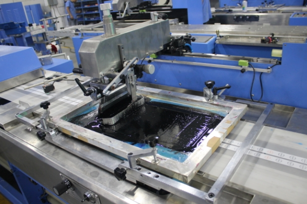SPE-3000S-5C Automatic label ribbons screen printing machine