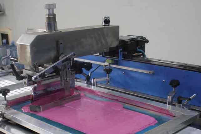 SPE-3000S-4C Automatic label ribbons/satin ribbons/lanyard ribbons screen printing machine