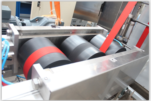 European Standrd seatbelt webbings continuous dyeing and finishing machine Factory