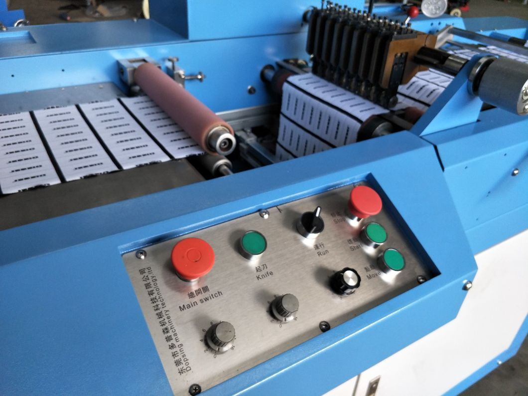 Polyester Satin Labels Ultrasonic Slitting Machine