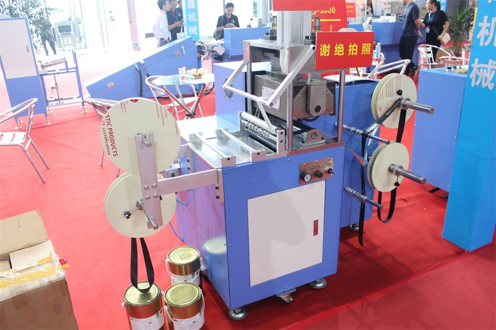Satin Ribbon Hot Stamping Machine with High Efficiency Dps-3000
