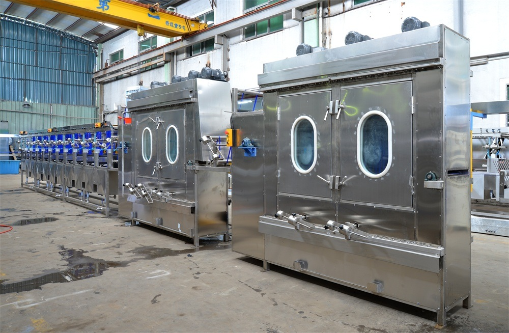 Elastic Tapes Continuous Dyeing&Finishing Machine with 10 Washing Tanks