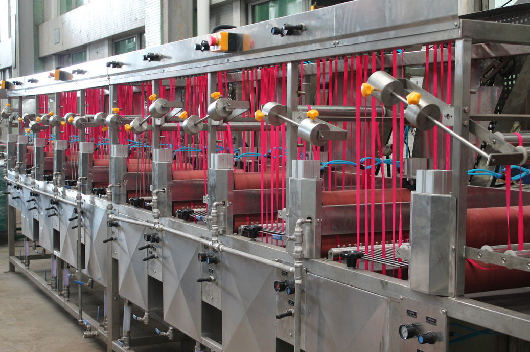 Normal Temp Nylon Ribbons Dyeing&Finishing Machine with Steam Box