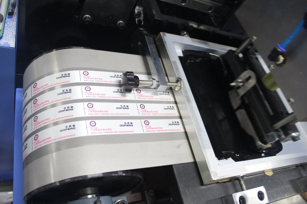 Dopsing Automatic Woven Label Screen Printing Machine
