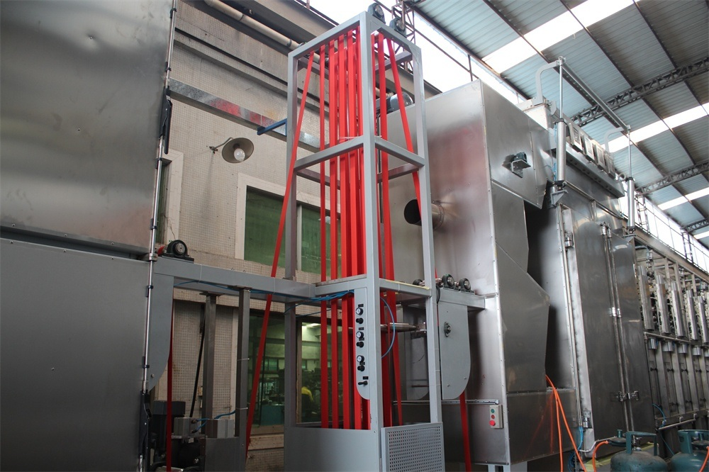 Safety Webbings Continuous Dyeing and Finishing Machine with EUR Standard