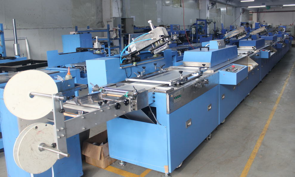 5 Colors Label Ribbons Screen Printing Machine Price