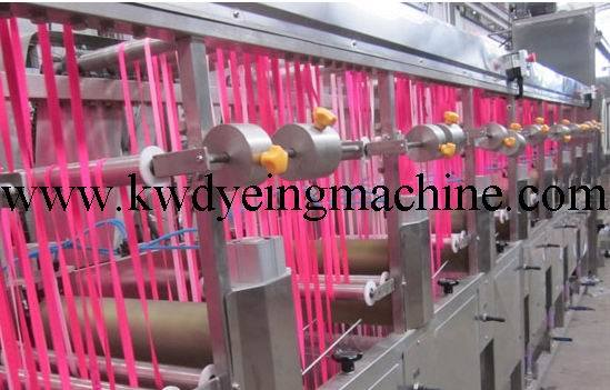 High Temp&Normal Temp Elastic Tapes Continuous Dyeing&Finishing Machine
