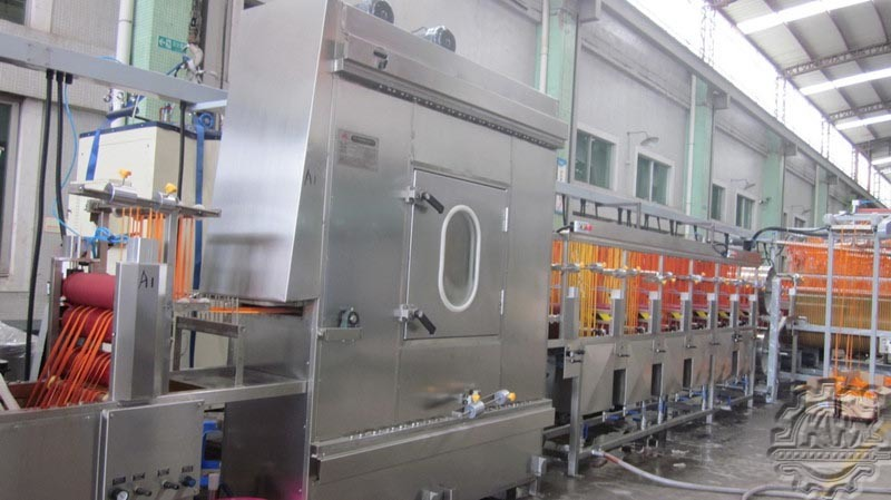 400mm Nylon Elastic Tapes Continuous Dyeing Machine