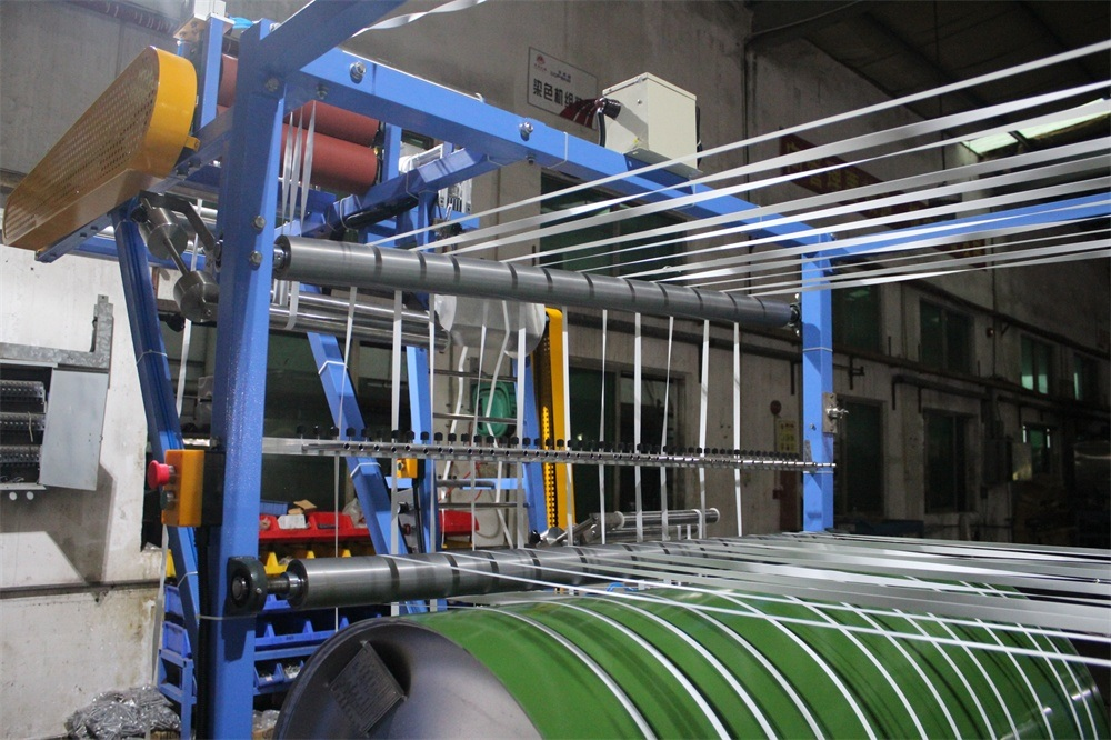 Nylon Elastic Tapes Starching and Finishing Machine (2 Cylinders) (KW-705A)