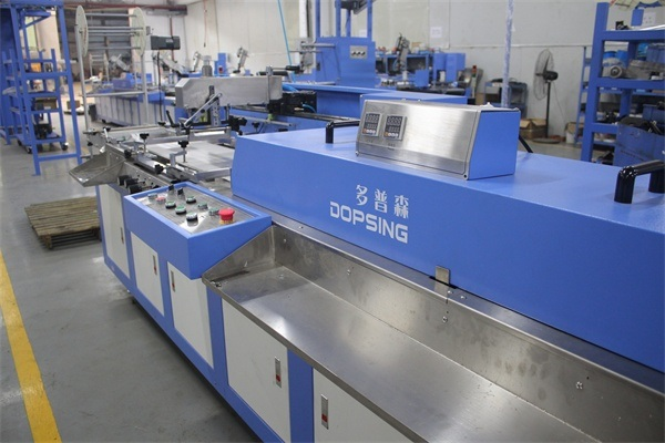 2 Colors Clothing Labels Automatic Screen Printing Machine