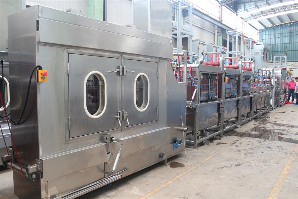 High Speed Polyester Ribbons Continuous Dyeing&Finishing Machine
