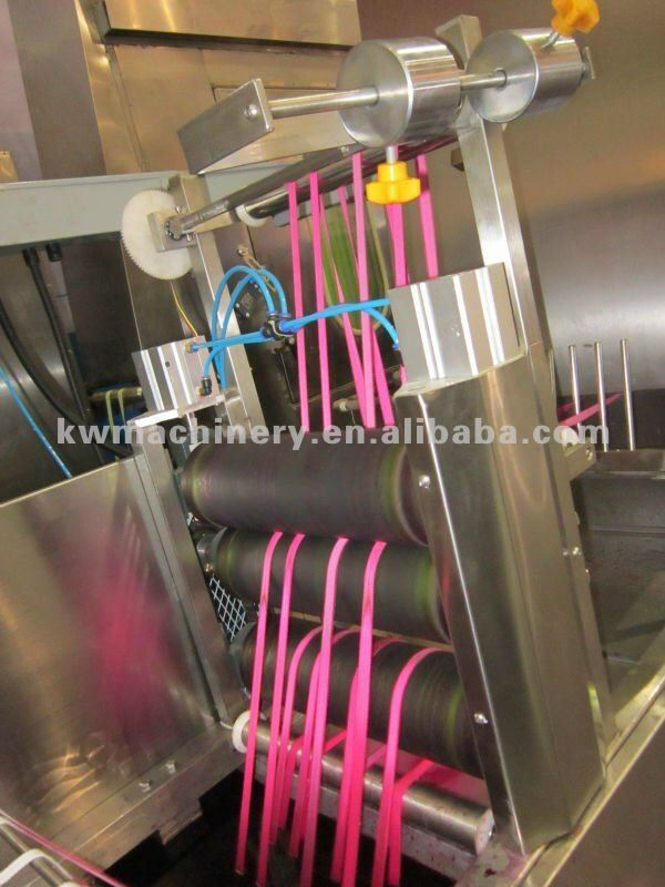 Ce Approved Nylon Elastic Tapes Continuous Dyeing Machine