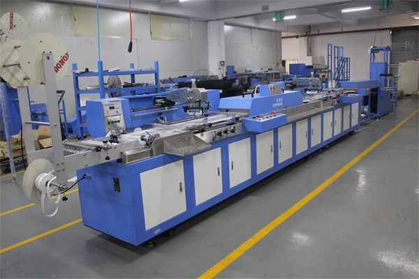 Eco Type 2 Colors Label Ribbons Automatic Screen Printing Machine
