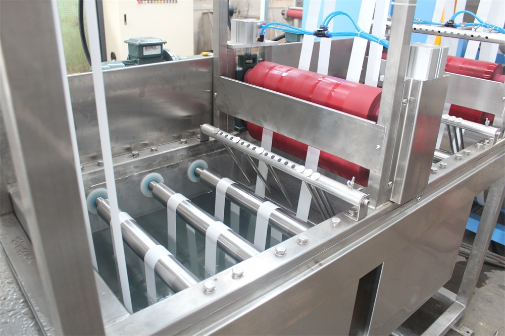 Polyester Ribbons Continuous Dyeing&Finishing Machine with EUR Standard