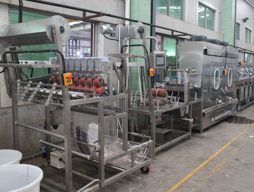 Nylon Elastic Tapes Continuous Dyeing Machine Manufacturer