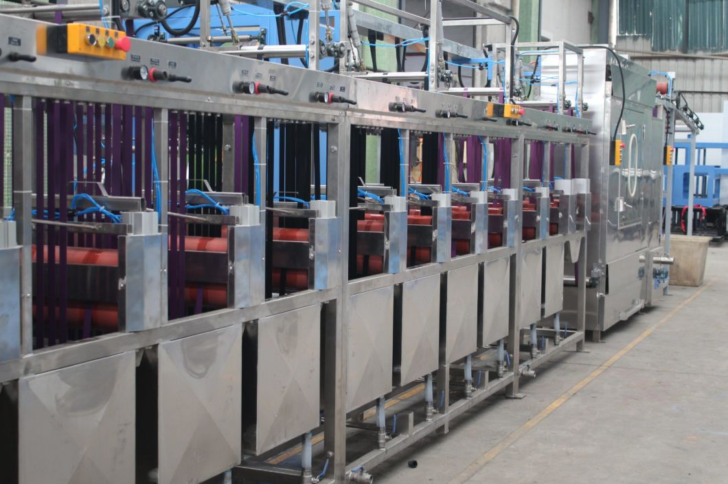 High Temp Bag Belt Webbings Continuous Dyeing&Finishing Machine