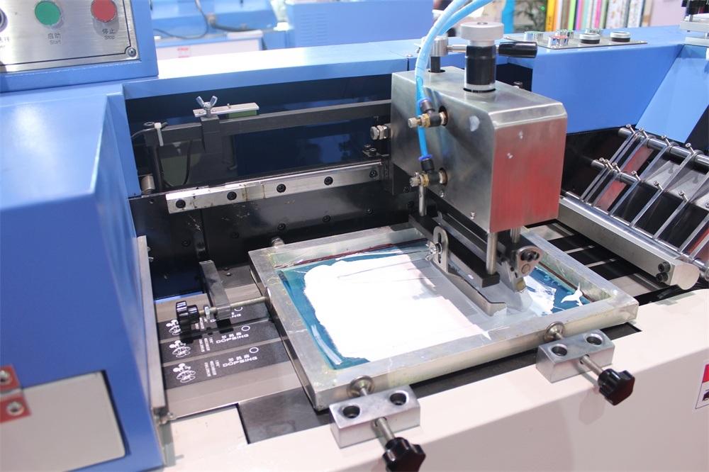 2+1 Colors Satin Ribbons High Temp Ink Screen Printing Machine