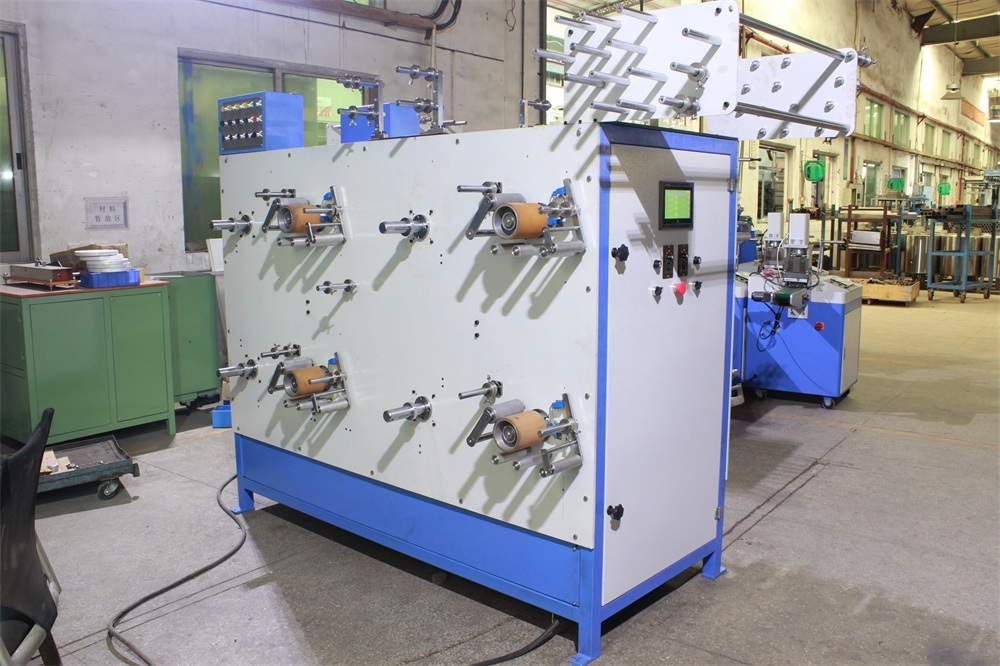 8 Axes Rolling Machine for All Kinds of Non-Elastic Tapes