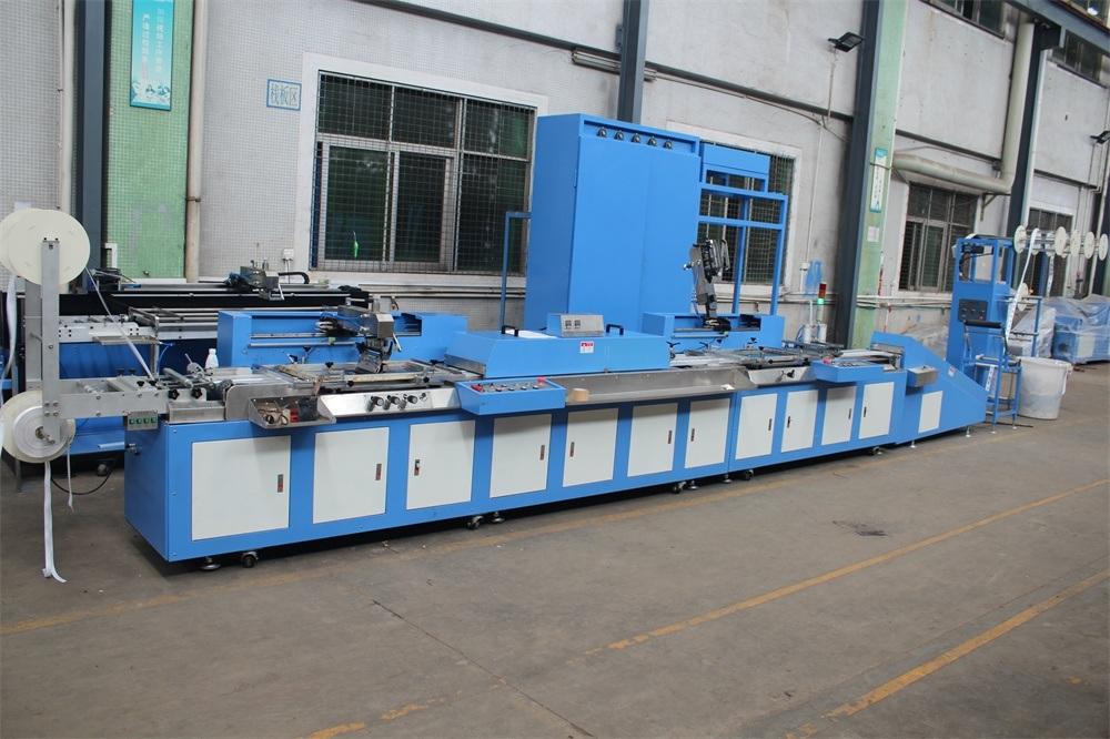 Cotton Label/Lanyard Ribbon Screen Printing Machine