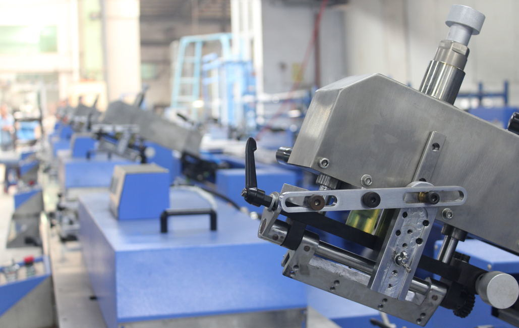 5 Colors Label Ribbons Automatic Screen Printing Machine Manufacturer