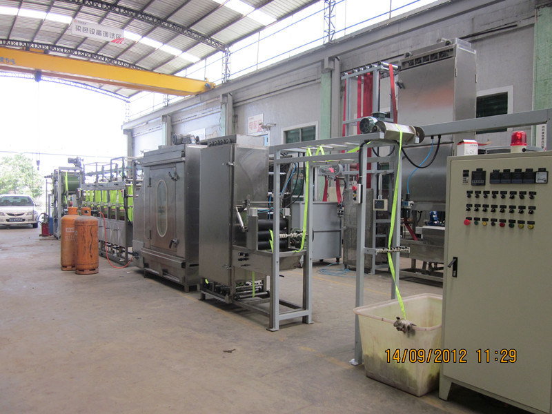 Satin Ribbons Continuous Dyeing&Finishing Machine with Ce