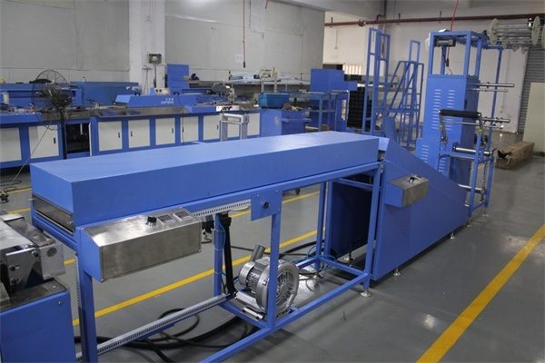 2 Colors Satin Woven Ribbons Automatic Screen Printing Machine with Lean Dryer