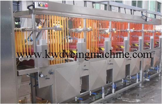 The Updated Newest Elastic Tapes Continuous Dyeing Machine