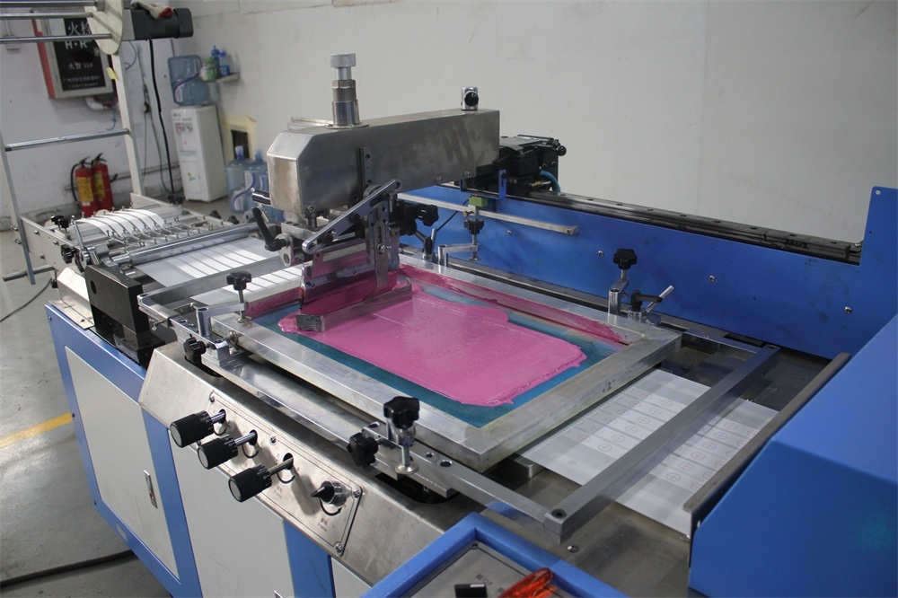 Elastic Tapes Automatic Screen Printing Machine with 30cm Width