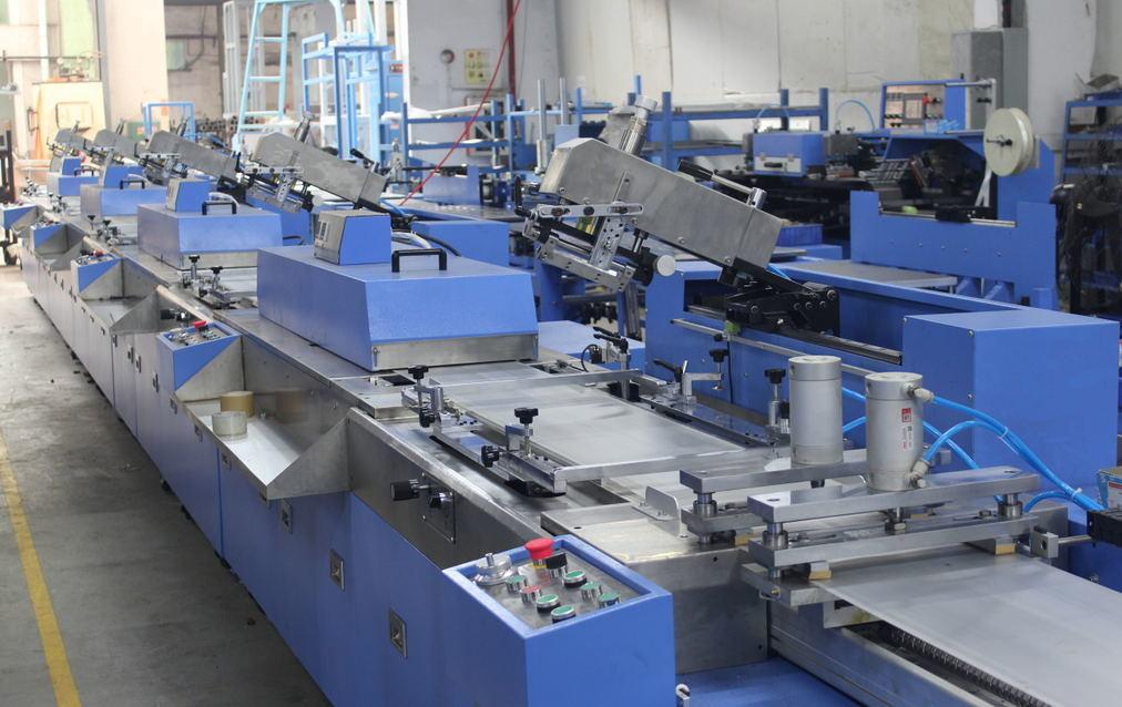5 Colors Label Ribbons Screen Printing Machine Price
